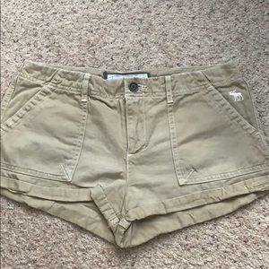 Abercrombie & Fitch Khaki Shorts
